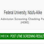 www.FUNAI.EDU.NG Post UTME Results 2017-2018 Admission is Out – Check out