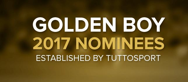 List Of All Golden Boy Nominees 2017