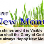 Best Happy New Month Prayer Celebration Messages – Best New Month Messages