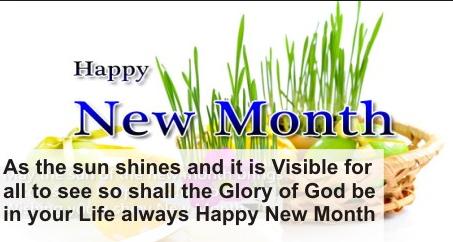 Best Happy New Month Prayer Celebration Messages - Best ...