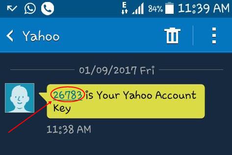yahoomail account key logo