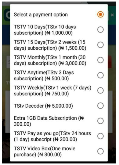 How To Pay TSTV Subscription Using Quickteller