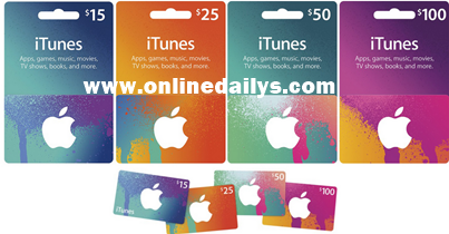 Redeem iTunes Card Online