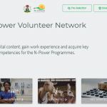 WWW.NPower.Gov.Ng Login Portal | Enter N-Power Nigeria Page Here