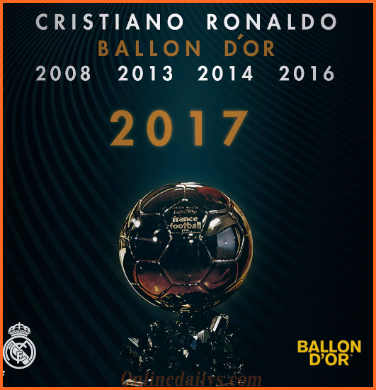 The Years CR7 Won Ballon d'Or