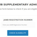 FUNAI Supplementary Form 2017-2018 Admission is out