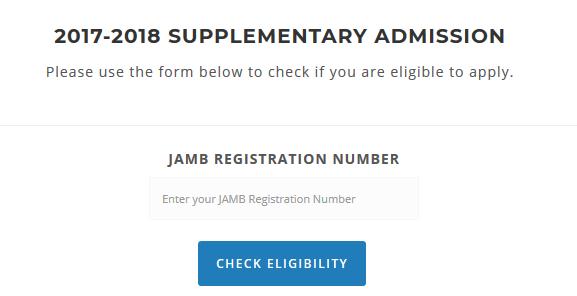 FUNAI supplementary eligibility page