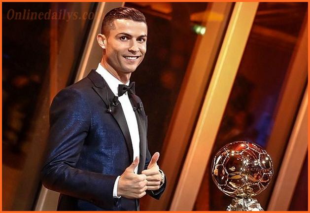 Cristiano Ronaldo 7 wins 2017 Ballon d'Or Award Beating Messi, Neymar