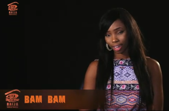 Bambam - Big Brother Naija housemate 2018