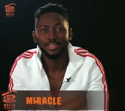 Miracle - #BigBrotherNaija Housemate