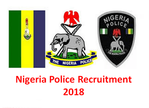 2018 Nigerian Police Force Recruitment Application Form