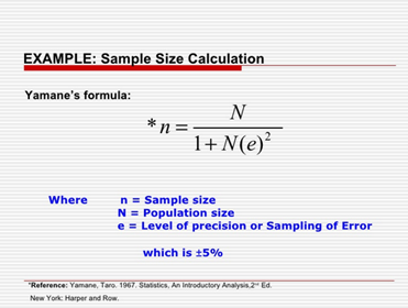 Sample Size in Statistics (How to Find it): Excel, Cochran ...