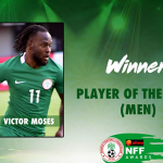 Victor Moses Wins NFF Player Of The Year Award – See All Winners