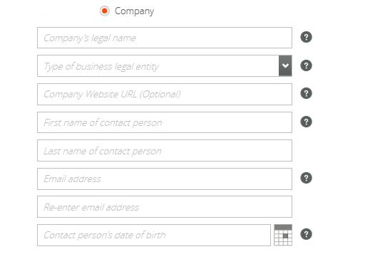Payoneer company form