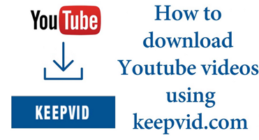 how to use keepvid app