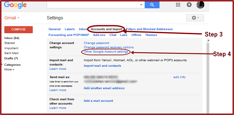 Gmail Edit Account 2