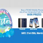 How to participate & Win Instants Gift on TECNO Easter Promo – #TECNOEasterPromo