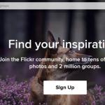Flickr Account Sign Up Registration Form | Flickr.com Photo Sharing Login