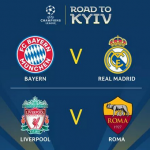 UEFA Champions League Semi-final draw – Real Madrid Land Bayern Again