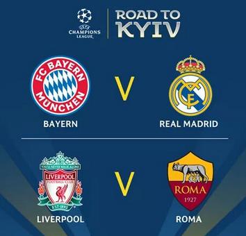 UEFA Champions League Semi-final draw – Real Madrid Land Bayern Again