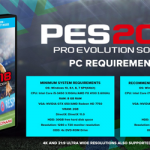 Pro Evolution Soccer 2018 System Requirements - PES 2018 Requirements