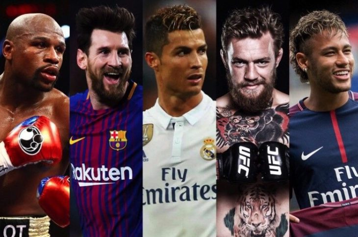 Forbes World's Highest-Paid Athletes 2018