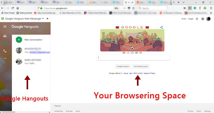 google hangouts firefox