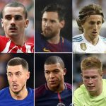 The Best FIFA Football Awards Nominees – See Full List Here