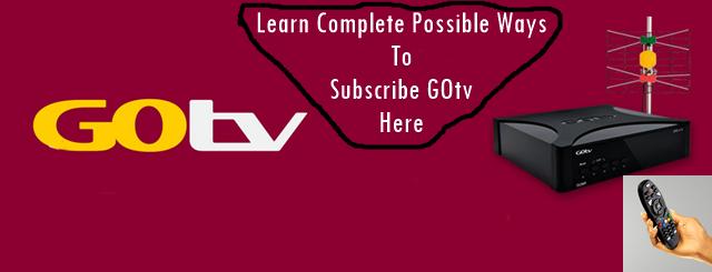 Subscribe GOtv banner