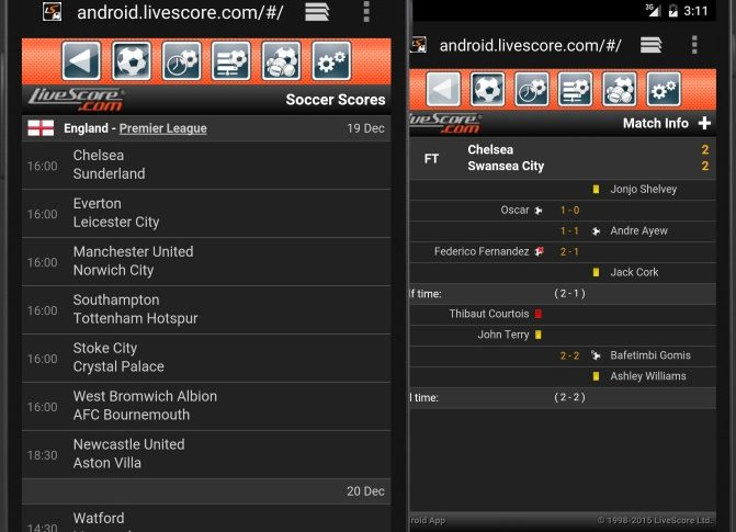Download LiveScore