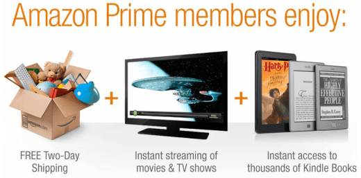 Sign Up Amazon Prime Free Trial