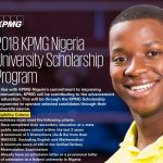 KPMG Nigeria University Scholarship Program 2018