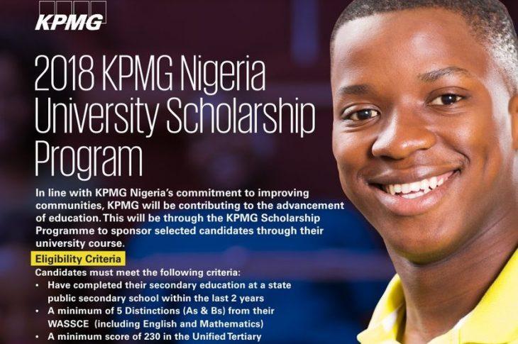 KPMG Nigeria University Scholarship Program 2018