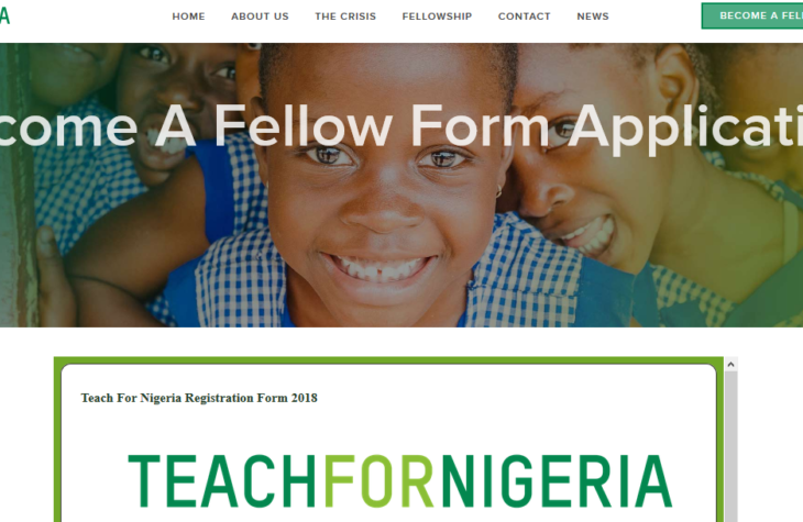 Teach For Nigeria Application Form And Requirements - See how To Apply