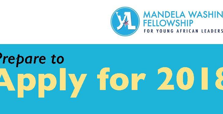 Apply for the 2019 Mandela Washington Fellowship
