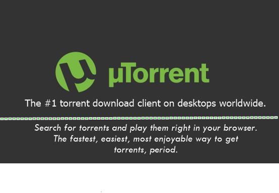 uTorrent download client