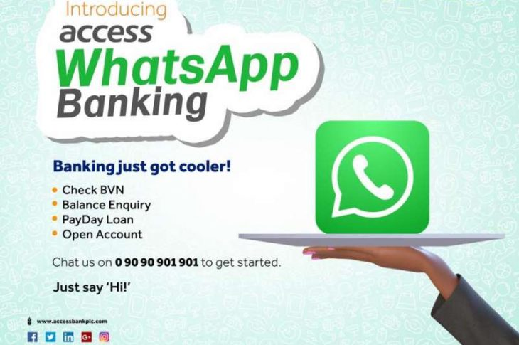 How To Setup & Use Access Bank WhatsApp Banking