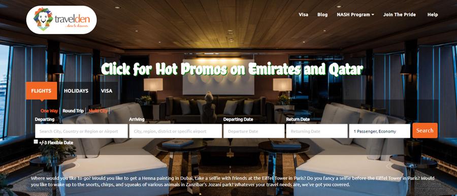TravelDen Affiliate Marketing Sign Up