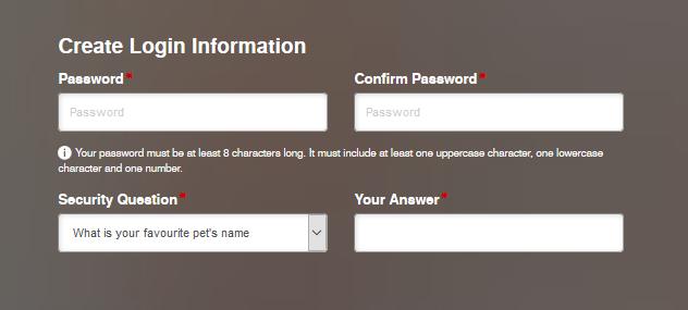BOSS Revolution New Account Registration 2