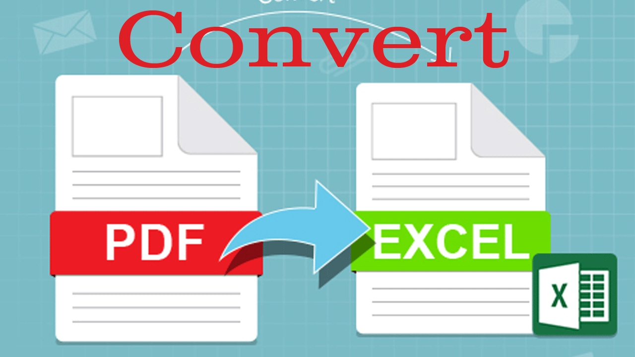 How To Convert PDF To Excel Free Online