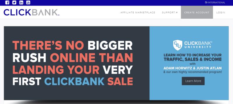 ClickBank Affiliate Account Sign Up   www.clickbank.com Login Form