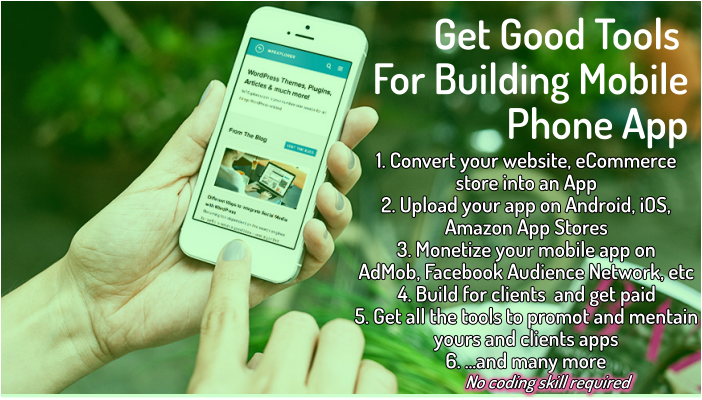 List of Top Mobile App Builder for Android, iOS, Amazon, & Microsoft App Store